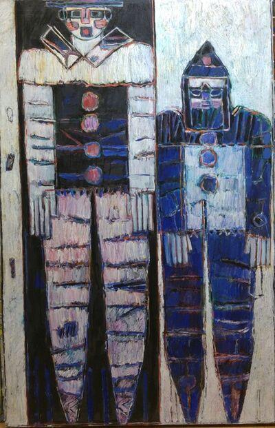 Moshe Tamir, 'Les clowns', ca. 1989