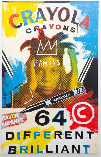 John Stango, 'Basquiat Crayola', ca. 2018