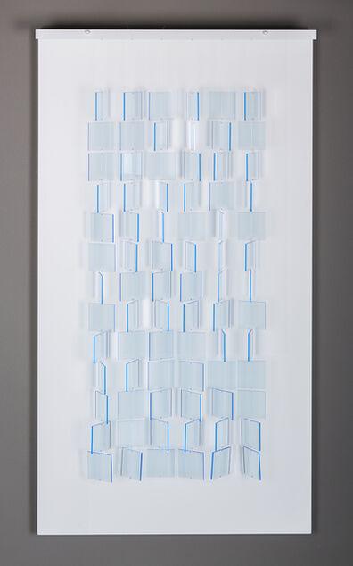 Julio Le Parc, 'Moble bleu translucide - Ed. de 50', 2017