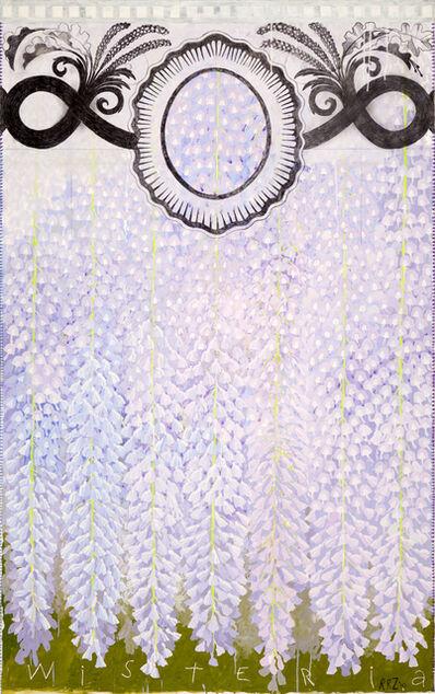 Robert Zakanitch, 'Hanging Gardens (Wisteria I)', 2010