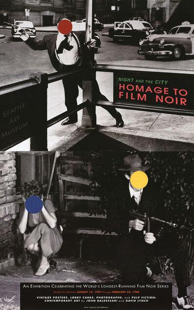 John Baldessari, 'Night and the City Homage to Film Noir', 1998