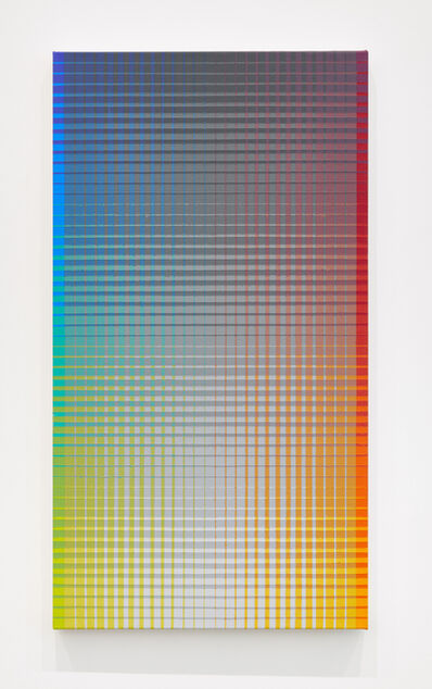 Sanford Wurmfeld, 'II-25 + B/2 (BG-N-RO)', 2018