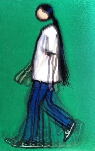 Julian Opie, 'Kris Walking (Cristea 150)', 2010