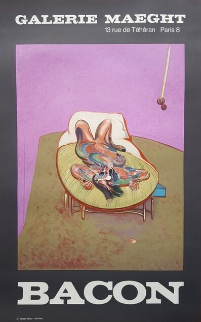 Francis Bacon, 'Personnage Couché', 1966