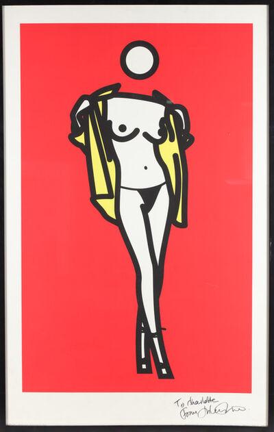 Julian Opie, 'Woman Taking Off Mans Shirt. 5', 2003