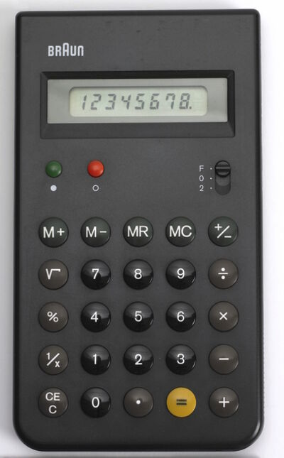 Dieter Rams and Dietrich Lubs, 'Calculator: ET55', 1980