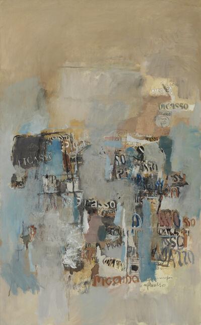 Sarah Grilo, 'Picasso', ca. 1970