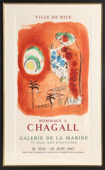 Marc Chagall, 'La Baie des Anges - Galerie de la Marine', 1967
