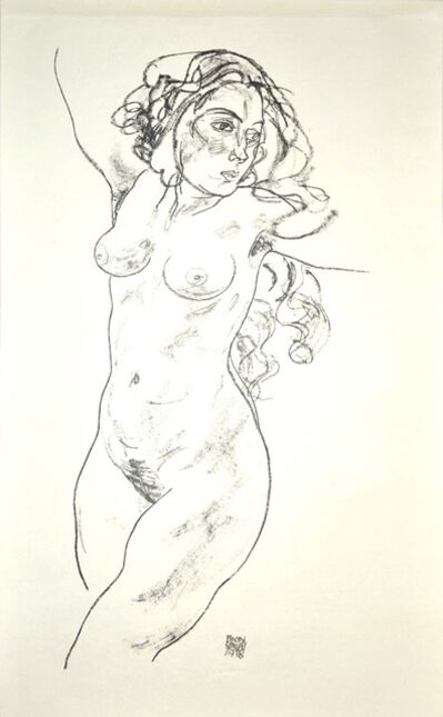 Egon Schiele, 'Standing Female Nude', 1920
