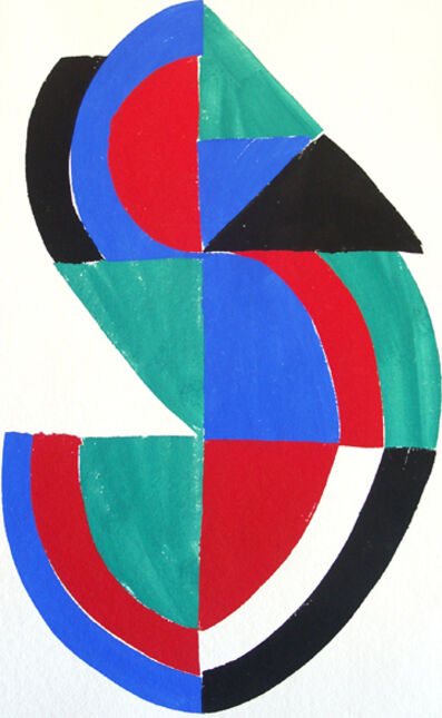 Sonia Delaunay, 'Untitled (from the Rythmes Couleurs portfolio)', 1966