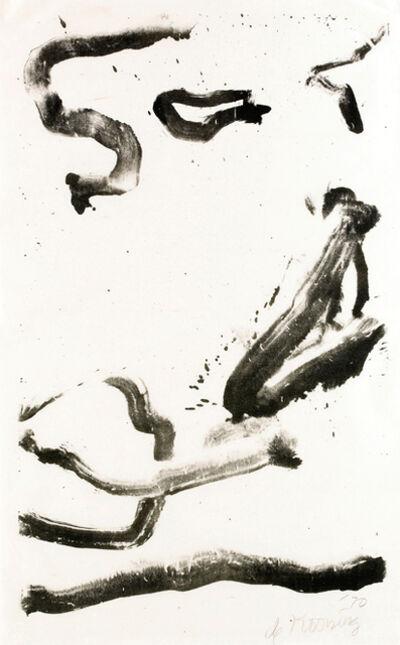Willem de Kooning, 'Love to Wakako', 1970