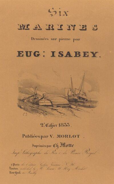 Eugène Isabey, 'Six marines', 1833