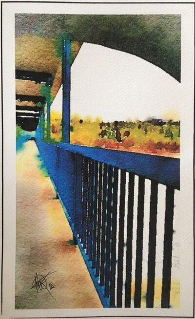 Mariam Qureshi, 'YEG Blue LRT bridge ', 2015