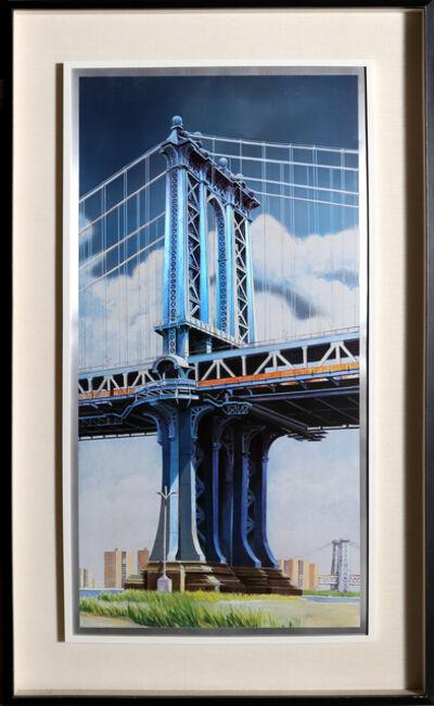 Richard Haas, 'Manhattan Bridge', 1999