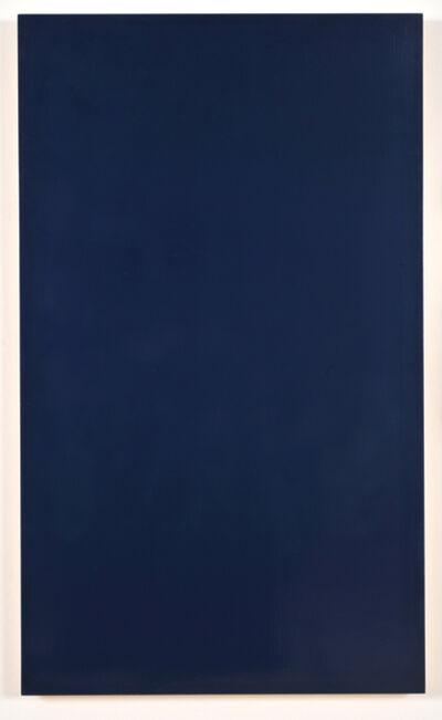 Marcia Hafif, 'Dark Blue', 1995