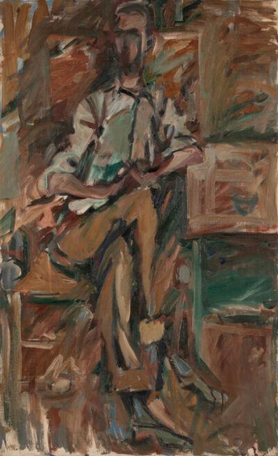 Elaine de Kooning, 'Bill Brown', 1954