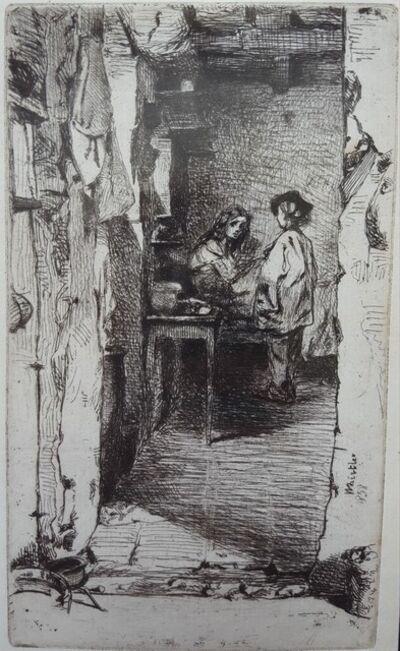 James Abbott McNeill Whistler, 'The Rag Gatherers', 1858