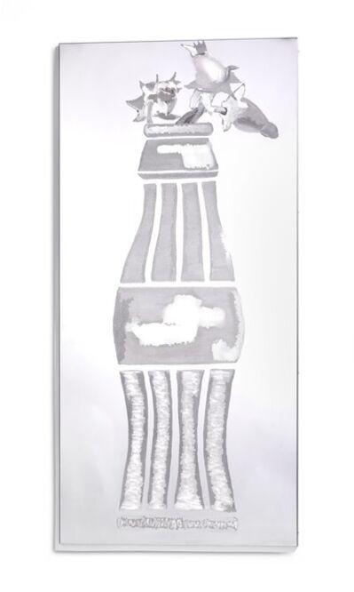 Erik A. Frandsen, 'Coca-Cola flaske med uudsprungne mælkebøtter (Coca-Cola bottle with unopened dandelions)', 2005