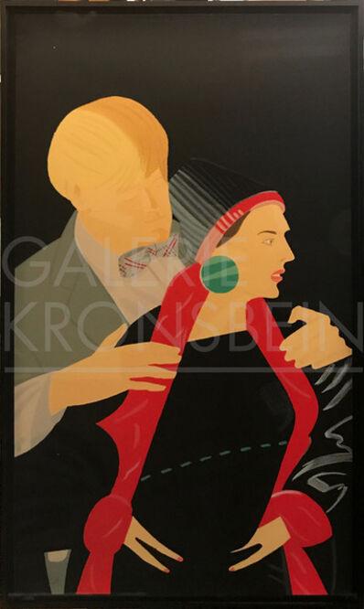 Alex Katz, 'Red Grooms and Elizabeth Ross (From the portfolio 'Pas de Deux')', ca. 1993