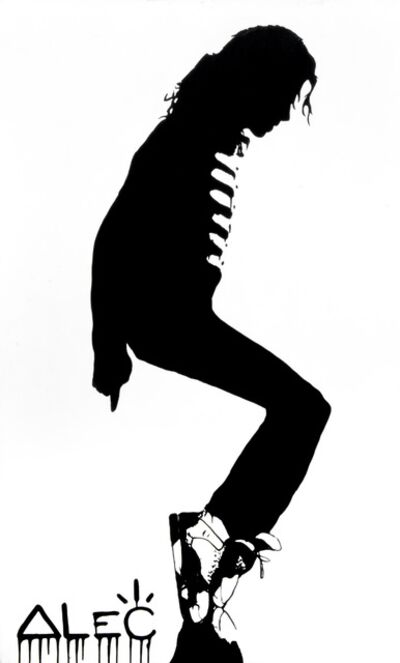 Alec Monopoly, 'White MJ Moonwalk', 2012