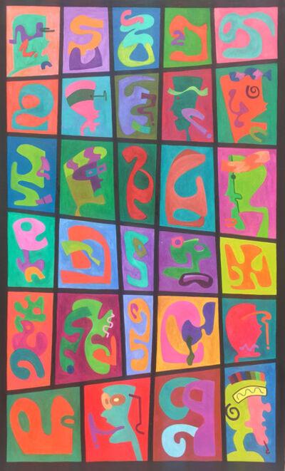 Daruich Hilal, 'Graffiti em Quadrinhos I', 2012