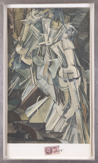 Marcel Duchamp, 'Nu Descendant un Escalier', 1937