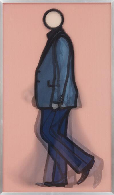 Julian Opie, 'Rod Walking', 2010
