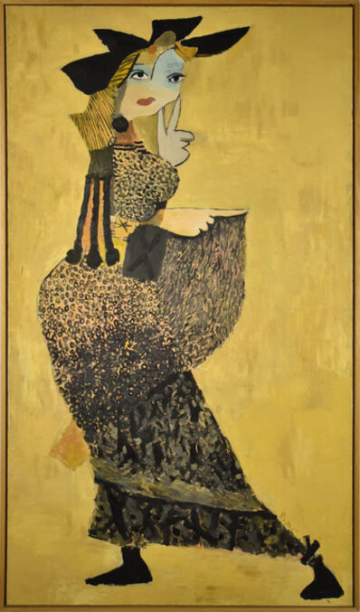 Gogi Chagelishvili, 'A Woman in front of the Mirror', 2009