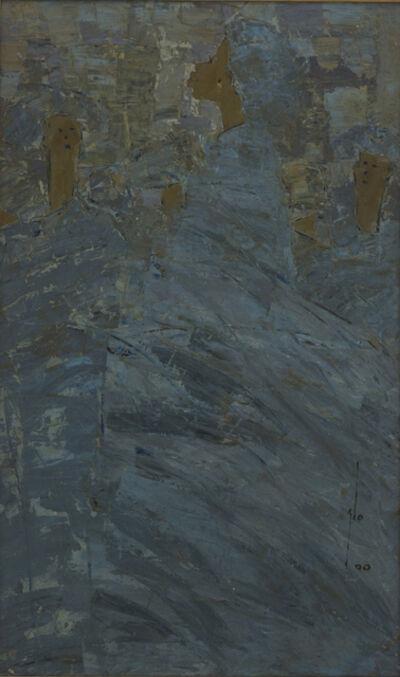 Ablade Glover, 'Blue Profile', 2000