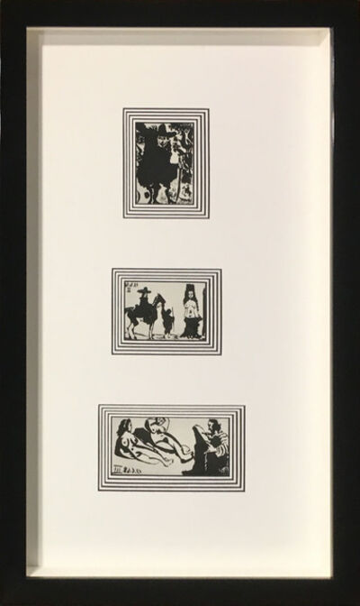 Pablo Picasso, 'Plate 155, 156, and 157 (Three-piece set)', 1968
