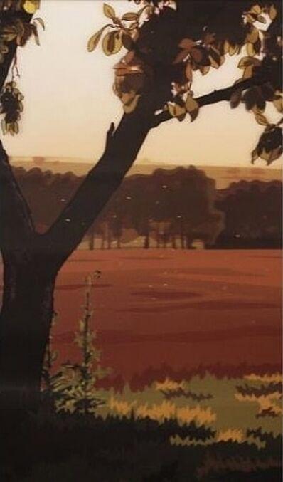 Julian Opie, 'French Landscape // Evening Sun', 2013