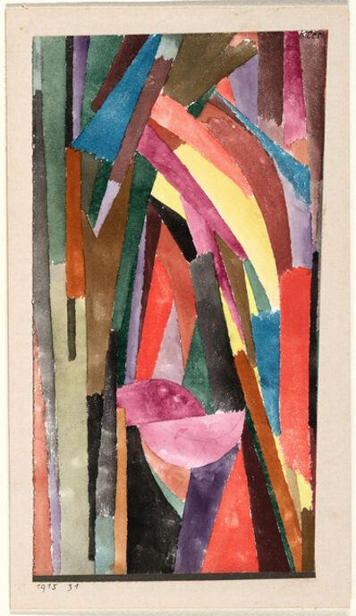 Paul Klee, '(Drôle?) [Gothique joyeux]', 1915
