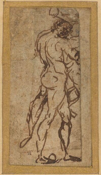 Michelangelo Buonarroti, 'Two Nudes Fighting'