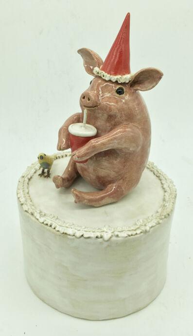 Sandy Whetstone, 'Pig Party'