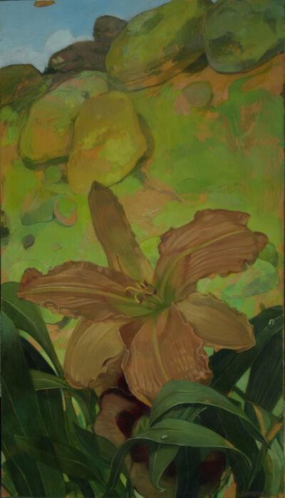 Benjamin J. Shamback, 'Day Lilles in Green Rocks', 2017