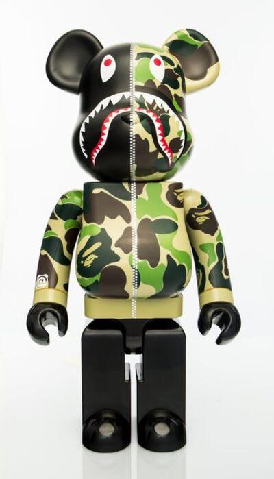 BE@RBRICK X BAPE, 'Shark Hoodie 1000% (Green)', 2015