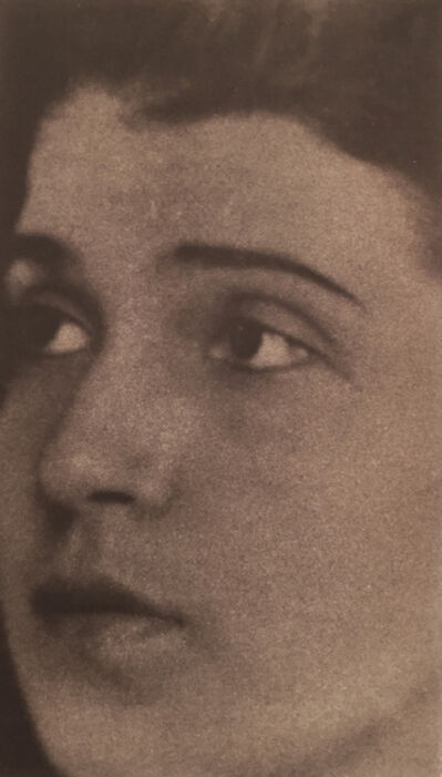 Edward Weston, 'Portrait of Tina Modotti', 1921
