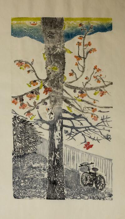 Bambi Lam, 'Half and Half series: Cotton tree pavement', 2018