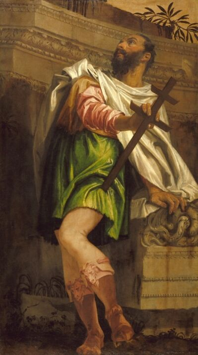 Paolo Veronese, 'Allegory of Navigation with a Cross-Staff: Averroës', 1557