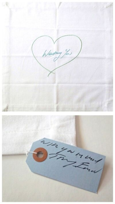 Tracey Emin, 'Wanting You (with hand signed tag)', 2014