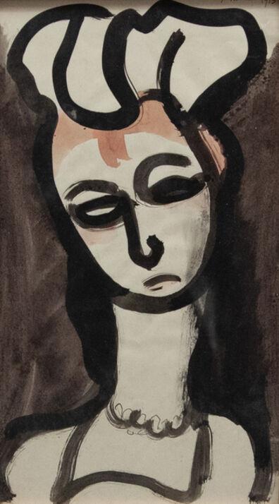 Georges Rouault, 'Demoiselle d'honneur de Ranavalo', 1915