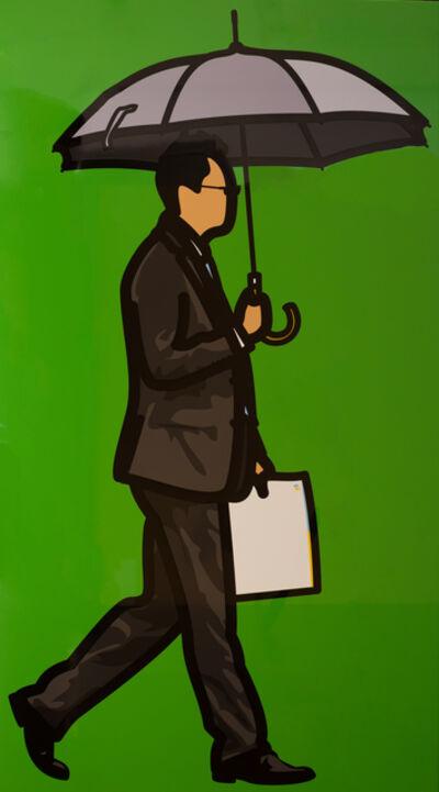 Julian Opie, 'Grey Umbrella', 2014