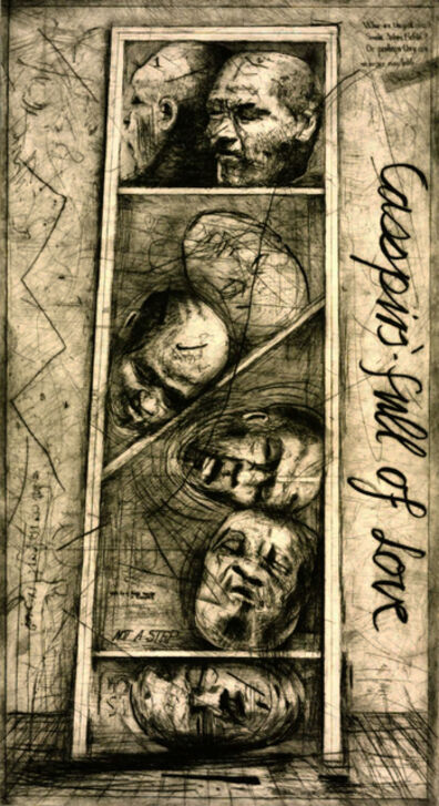 William Kentridge, 'Casspirs Full of Love', 1989-2000