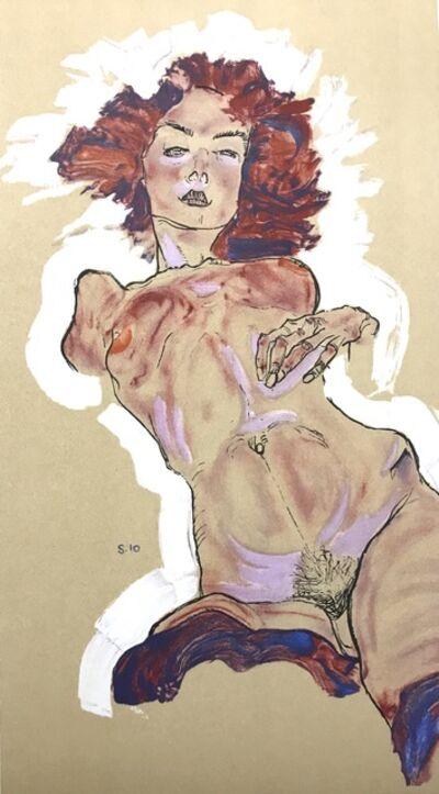 Egon Schiele, 'Female Nude', 2007