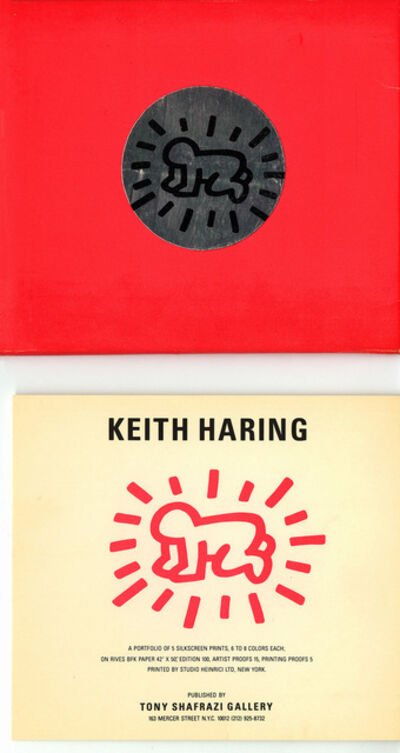 Keith Haring, 'Keith Haring Fertility Suite exhibition cards (set of 5)', 1983