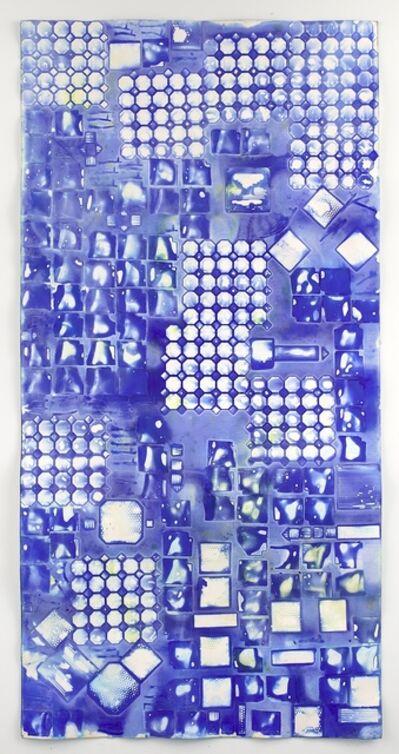 Ellen Hackl Fagan, 'Seeking the Sound of Cobalt Blue_Tile Capture 1', 2016