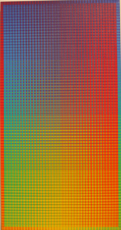Sanford Wurmfeld, 'II-15#1B (V-Y)', 2001