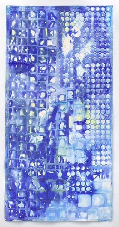 Ellen Hackl Fagan, 'Seeking the Sound of Cobalt Blue_Tile Capture II', 2016