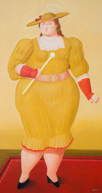 Fernando Botero, 'The Saint', 2017