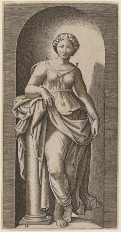 Marcantonio Raimondi after Raphael, 'Fortitude'